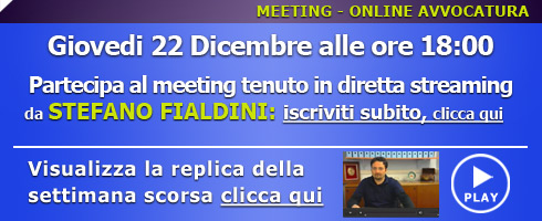 MEETING ONLINE 22 DICEMBRE 2014